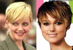 Image detail for -short hairstyles for fine hair round face