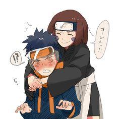 Obito x Rin Naruto Shippuden, Boruto, Naruto Kakashi, Anime Naruto, Naruhina, Naruto Cute, Sarada Uchiha, Manga Anime, Wallpapers Naruto