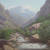 Sold   Volschenk, J.E.A   In Zevenweeks Poort Land Surveyors, African, Gallery, Water, Outdoor, Art, Gripe Water, Outdoors, Art Background