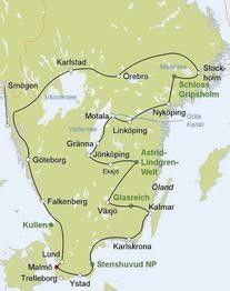 Autorundreise Entlang Der Westkuste Ostkuste Schwedens Scharen Mit Fischerdorfern Und Badeplatzen Waldern Schweden Urlaub Schweden Reise Camping Schweden