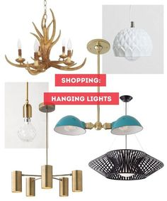 Shopping by Style: Guides to Romantic, Mid-Century, Natural & Industrial Pendant Lights   Apartment Therapy