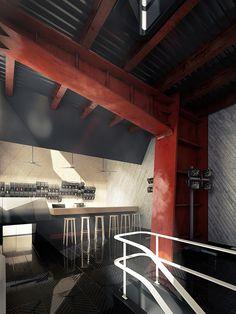 Construction Site Pub on the Behance Network