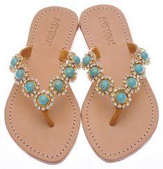 Summer must have.  Mystique Sandals