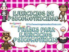 Ejercicios de psicomotricidad. Frases para ejercicios psicomotrices III (1)