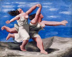 Pablo Picasso, Due donne che corrono sulla spiaggia (La corsa)