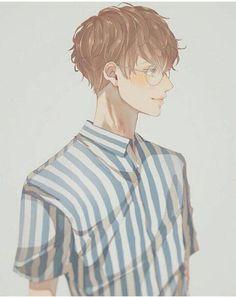 anime, snile, and boy image Manga Boy, Manga Anime, Fanarts Anime, Anime Characters, Anime Art, Boy Character, Character Concept, Character Design, Manga Illustration