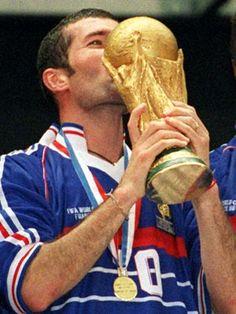 Zidane, France FIFA World Cup Champion(France/1998)