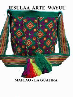 Mochila Wayuu / bag wayuu