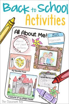 Back to School Activities for 2nd and 3rd grade ($) Start the year with success for all students! Easy no-prep activities to build community, teach procedures, and review skills