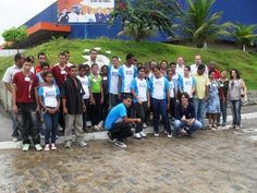 Visita dos alunos das escolas Zenobio Lins e Veronice Maria - Fabrica da Tigre emEscada