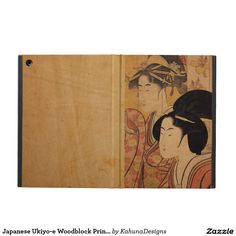 Japanese Ukiyo-e Woodblock Print Series Three iPad Air Cases