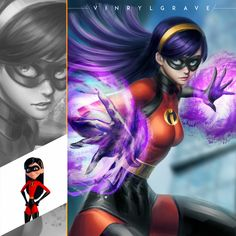 Rate works from 1 to if The Incredibles are in universe by Disney Films, Disney And Dreamworks, Disney Pixar, Disney Animation, Animation Film, The Incredibles 3, The Incredibles Elastigirl, Violet Parr, Pixar Characters