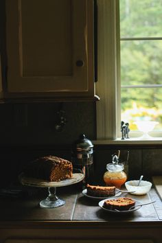 How to spend a rainy northwest morning: pumpkin bread with maple glaze.