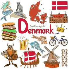 learn about Denmark and its cultural significance Geography For Kids, Teaching Geography, World Geography, Flags Of European Countries, Countries And Flags, Cultures Du Monde, World Cultures, Denmark Culture, Denmark Country