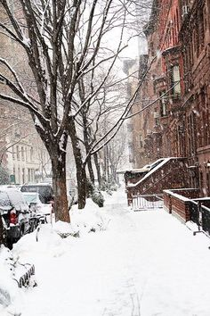 New York city snow falling, winter by adrian New York Winter, New York Noel, Nyc Snow, New York Weihnachten, New York City Photos, New York Christmas, Prim Christmas, New York Life, Destinations