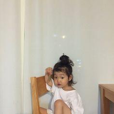 Cute Asian Babies, Korean Babies, Asian Kids, Cute Babies, I Want A Baby, Cute Little Baby, Little Babies, Little Ones, Kids Girls