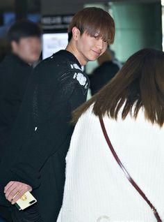 170413 SungJae arrived Korea at Gimpo Airport #비투비