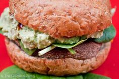 Clean Eating Portobello Mushroom Burgers use gluten-free bun