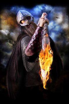 Viking warrior.