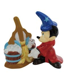 WANT!!! Take a look at this Fantasia Salt & Pepper Shakers by Disney on #zulily today!