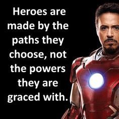 Iron Man motivational lines Wise Quotes, Movie Quotes, Quotes To Live By, Avengers Memes, Marvel Avengers, Motivational Lines, Inspirational Quotes, Marvel Quotes, Iron Man Tony Stark