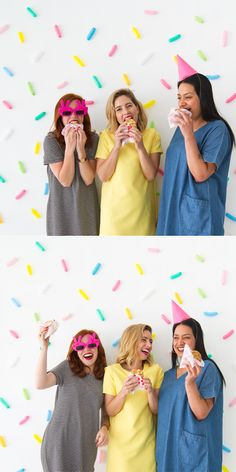 Sprinkle Balloon Backdrop DIY