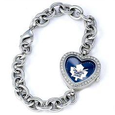 Denver Broncos Women's Heart Watch from Game Time San Jose Sharks, Tennessee Titans, Tn Titans, Tear, Fan Gear, Stainless Steel Bracelet, Heart Shapes, Bracelet Watch, Heart Bracelet