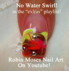 """no water marble nails"" ""water marble"" ""nail art"" ""robin moses"" ""no water marbling"" ""how to marble nails"" ""how to swirl nails"" nails nail art nailart robin moses how to design tutorial"