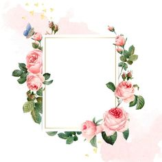 Blank rectangle pink roses frame on pink and white background Free Vector A nice frame of flowers, namely pink flowers for Merry Wedding, the pink color symbolizes the new journey to life of couple! Wedding Programs Vintage, Wedding Cards, Rose Frame, Flower Frame, Backgrounds Free, Flower Backgrounds, Vintage Flowers, Pink Flowers, Pink And White Background