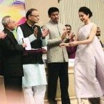Kangana Ranaut Collects National Award In Western Outfit