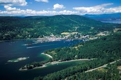 The seaside village Ganges Harbour is the heart of Salt Spring Island Pacific Coast, West Coast, 2010 Winter Olympics, Seaside Village, Mountain Range, British Columbia, North West, Islands, Sailing