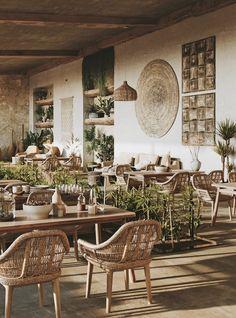 Decoration Restaurant, Deco Restaurant, Thermas Park, Coffee Restaurants, Design Exterior, Restaurant Interior Design, Beach Restaurant Design, Cafe Design, Design Art