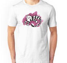 Shirt, Design, geometric, simple, black, white, cat