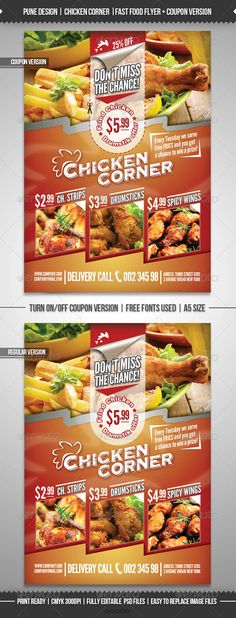 Restaurant Flyer Template   Free Word Pdf Psd Eps Indesign
