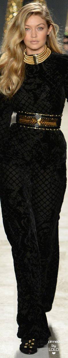 Gigi Hadid for Balmain x H&M Collaboration Collection | LOLO❤︎
