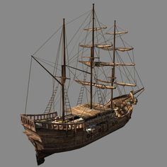 chinese ship 3d model - Google Search