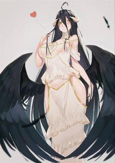 Yandere Anime, Chica Anime Manga, Albedo, Manga Art, Anime Art, Neko Kawaii, Anime Girl Hot, Ecchi, Anime Animals