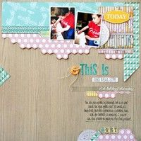A Project by staceymichu from our Scrapbooking Gallery originally submitted 08/02/13 at 08:23 AM