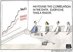 """Data is not insights. RT ""Big Data Analytics"" - new cartoon and post on correlation versus causation. Big Data, Data Data, Ap Psychology Review, Lean Six Sigma, Math Humor, Phd Humor, Tough Day, Deep Learning, Marketing Quotes"