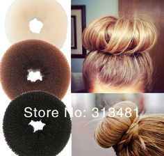 Cheap donut hair, Buy Quality hair accessories bun directly from China hair bun accessories Suppliers: 																			  							Name:Hair Bun							Color:Black,Beige and Brown							Size:about 7cm							Wegith:about