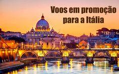 Voos para Milão, Veneza e Roma em 2017 a partir de R$ 1130* #milão #voos #passagens #veneza #roma #promoção