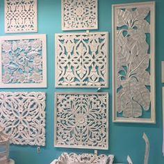 retablos de madera. Novedades de cuadros en Virginia Esber