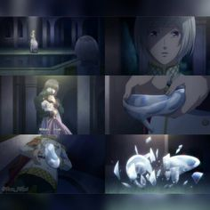 Norn 9 Episode 5 Anime Coulpe Romance Game Sad Couples