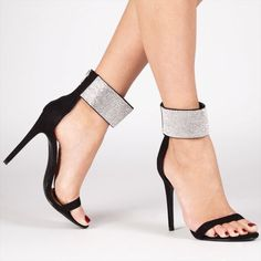 9ae91fec901 Sandals with heel for ladies 2018 Sexy Black High Heel Shoes Women Crystal  Ankle Strap Stiletto Sandals Ladies Shoes Heel - Buy Ladies High Heels  Shoes ...