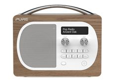 Buy Oak Pure Evoke DAB/FM Radio from our Radios range at John Lewis & Partners. Cool Bluetooth Speakers, Digital Radio, Button Cell, Sonos, Head Start, Pure Products, Vintage, Vintage Comics