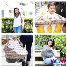 Sabías que el cobertor multiusos puede usarse de diferentes maneras? Para lactancia Para la silla del carro Para el carrito del super Como accesorio  Cómpralo en la #tiendawom  wom.com.co o escríbenos   a nuestro WhatsApp 3146589987 y te lo enviamos a tu casa  #cobertor #lactancia #maternidad #bebe