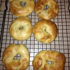 Homemade Bagels Allrecipes.com