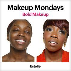 Pretty Bold: Estelle    http://prettypowerful.bobbibrowncosmetics.com/en/transformations/796/beauty/Estelle