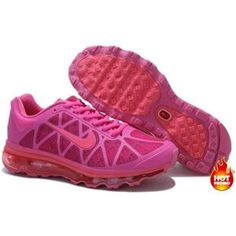 Nike Air Max 2011 Women Mesh Shoes Rosepink/Red Color