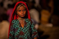 ... little gypsy girl during the camel pushkar fair | by anthony pappone photography